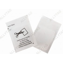 Alarming Clothing EAS Security Labels Radio Frequency Pocket Type Light Weight