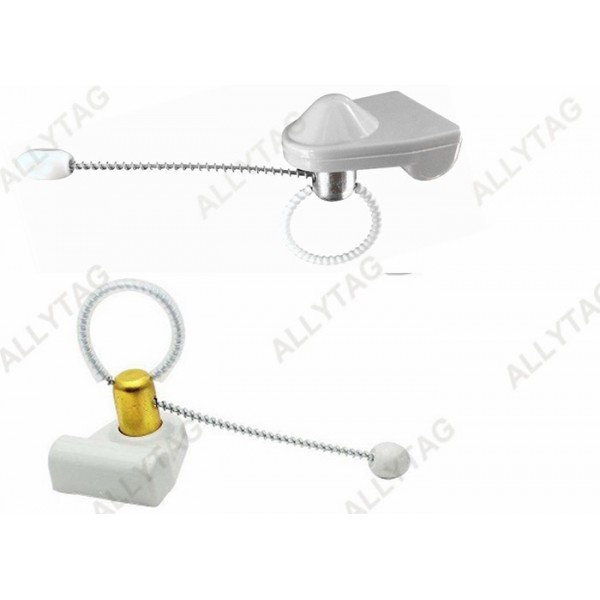 Metal Cable Wine Bottle Security Tags , Standard Lock Alcohol Security Tags