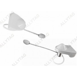 Grey Color Bottle Security Tags 36 x 30mm Preventing Wine Shop Stealing