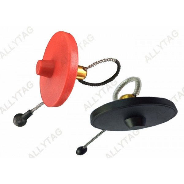 EAS Bottle Tag Alarm Cable Magnetic Detacher Release For Alcohol Dia 50mm