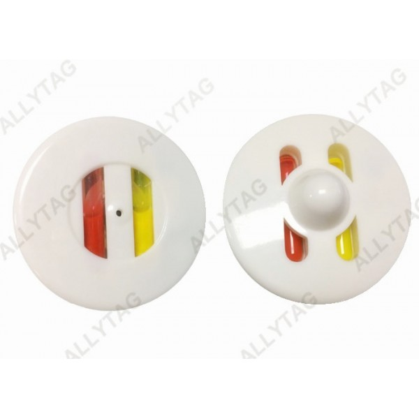 50mm Ink Sensors On Clothes , AM / RF Ink Alarm Tag Widely Compatible