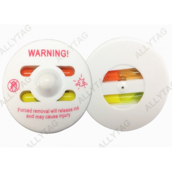 RF / AM Frequency Clothes Security Tag Ink , Ink Tag Magnet Two Inks Featuring