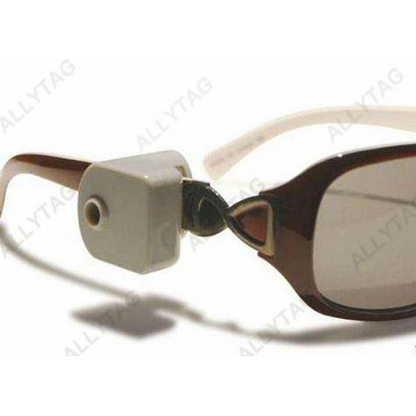 ABS Plastic Anti Shoplifting Tags , Eyeglass Security Tags Long Life Time