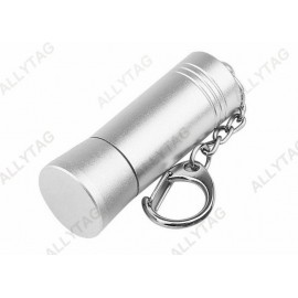 Aluminum Silver Security Tag Detacher 53x18mm Dimension For Stop Lock