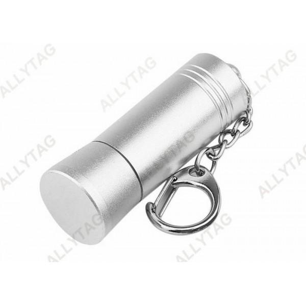 Aluminum Silver Security Tag Detacher 53x18mm Dimension For Stop Lock