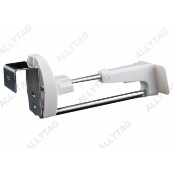 High Durability Locking Slatwall Hooks , Display Hanger Hooks Anti Theft Function