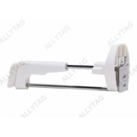 Mobile Store Locking Hooks Stainless Steel Tube Materials Installs On Wall