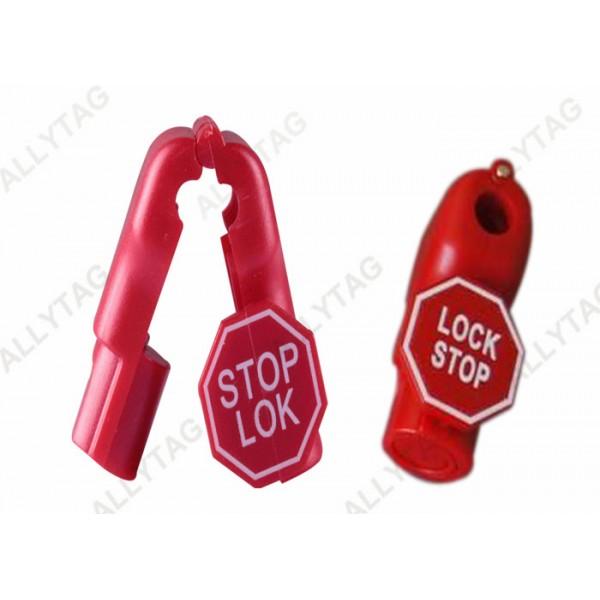ABS Plastic Eas Anti Theft Peg Hook Locks 39x19x15mm Dimension Logo Printing