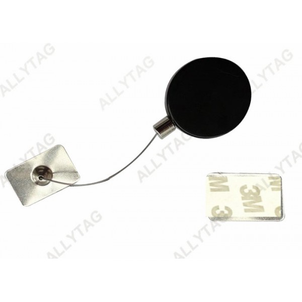 41.5 x 12.5mm Anti Theft Recoiler ABS Housing For Jewelry / Digital Accessories