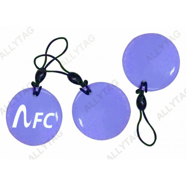Contact - Less RFID NFC Smart Card PVC Drop Glue For Bus And Metro