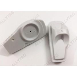 EAS Dark Grey UHF RFID TAGS AM 58Khz For Garments Source Tagging