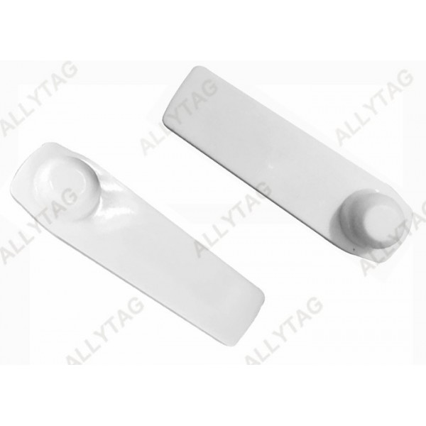RFID 58KHz Anti Theft Tag Magnetic Lock 66 x 33mm Dimension For Garment Stores