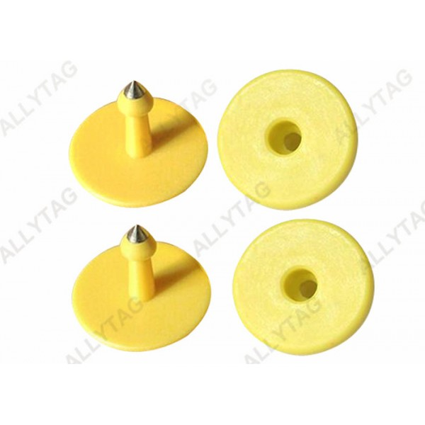 Animal Ear UHF RFID TAGS Antenna Chip Inside For Farm Cattles Cows Tracing