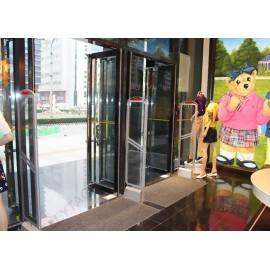 Acrylic Alarming Eas Security Gates , Supermarket Security Gates 110V / 220V Host Voltage