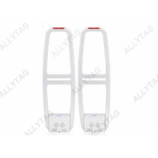 High Sensor EAS AM System Gates Off White Color For Retail Anti Shoplifting