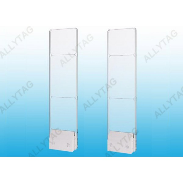 Hard Acrylic EAS RF System Transparent Color 1500x350x120mm Dimension