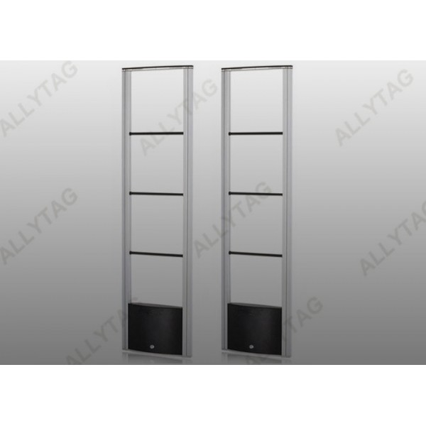 Aluminum Alloy Retail Store Security Gates Black Color DSP Digital Signal Processing