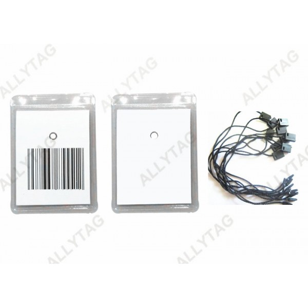 8.2MHz EAS Alarm Security Tag Sticker For Clothing Price Customized Logo