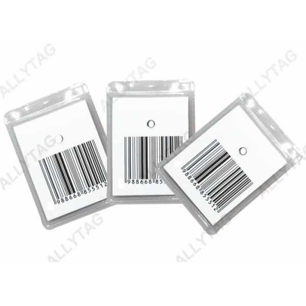 Non - Deactivatable Anti Theft Label Waterproof PVC Coating 60 x 50mm