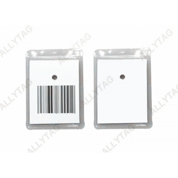 Anti Shoplifting EAS Hard Tag Clear / Transparent Color For Clothing