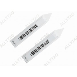 High Sensor Anti Theft Labels AM / DR Frequency Insert Label Plastic Material