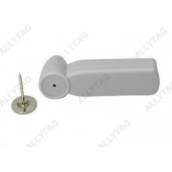 Mini Clothing EAS Hard Tag , Plastic Security Tags Metal Pin For Baby Shops