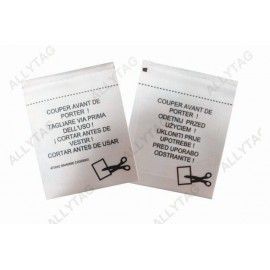 Sew In EAS Security Labels 60x47mm Tag Dimension For Source Tagging Solution