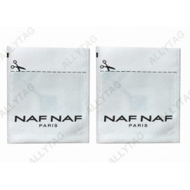 Clothing Tagging RF Security Labels , Eas Soft Label High Space Saving