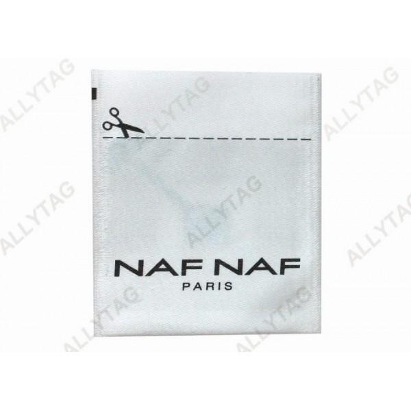 Sensor Alarm Electronic Article Surveillance Tags , Eas RF Label Silk Ribbon Material